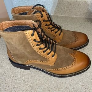 MARK NASON by SKECHERS ITHACA BEAUFORT BOOTS MENS SIZE 10